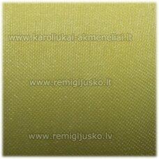 JOR0042 apie 40 mm, šviesi, geltona spalva, organzinė juostelė, 1 m.