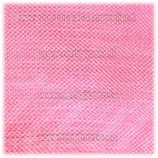 JOR0067 apie 30 mm, rožinė spalva, organzinė juostelė, apie 23 m.