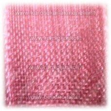 JOR0076 apie 10 mm, šviesi, vyšninė spalva, organzinė juostelė, apie 23 m.
