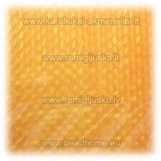 JOR0078 apie 40 mm, geltona spalva, organzinė juostelė, 1 m.