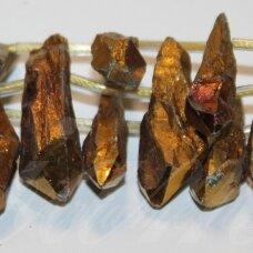 jsagdr0131-net-05x25-10x40 apie 5 x 25 - 10 x 40 mm, netaisyklinga forma, agatas (druzy), apie 20 vnt.