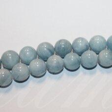 jsaqua-apv-10 apie 10 mm, apvali forma, akvamarinas, apie 38 vnt.