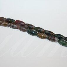 jskaa0005-pai-12x6 apie 12 x 6 mm, pailga forma, marga spalva, agatas, apie 32 vnt.