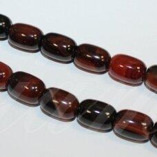 jskaa0035-cil2-14x10 apie 14 x 10 mm, cilindro forma, marga spalva, agatas, apie 28 vnt.