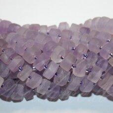 jskaam-ron-05x10-7x11 apie 5 x 10 - 7 x 11 mm, rondelės forma, ametistas, apie 50 vnt.