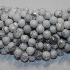 jskah-balt-apv-br-08 apie 8 mm, apvali forma, briaunuotas, balta spalva, hovlitas, apie 48 vnt.