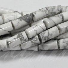 jskah-balt-cil-13x4 apie 13 x 4 mm, cilindro forma, balta spalva, hovlitas, apie 28 vnt.
