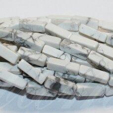 jskah-balt-stac-13x4x4 apie 13 x 4 x 4 mm, stačiakampio forma, balta spalva, hovlitas, apie 28 vnt.
