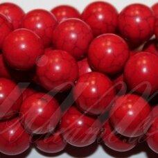 jskah-raud-apv-18 apie 18 mm, apvali forma, raudona spalva, hovlitas, apie 22 vnt.
