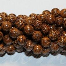 jskaja-dro-apv-10 apie 10 mm, apvali forma, dramblio odos jaspis, apie 39 vnt.