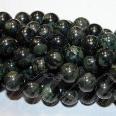 "jskaja-kam-apv-10 apie 10 mm, apvali forma, kambaba jaspis, ""kambab jasper"", apie 38 vnt."