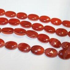 jskakr-oval-20x15x6 apie 20 x 15 x 6 mm, ovalo forma, karneolis, 20 vnt.