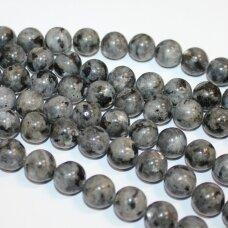 jskalar-apv-06 apie 6 mm, apvali forma, larvikitas, apie 62 vnt.