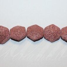 jskalav-rausv-6kamp-21.5x23.5x10 apie 21.5 x 23.5 x 10 mm, šešiakampio forma, rausva spalva, lava, apie 19 vnt.