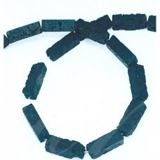 jskalav-stac-13x4x4 apie 13 x 4 x 4 mm, stačiakampio forma, lava, apie 30 vnt.