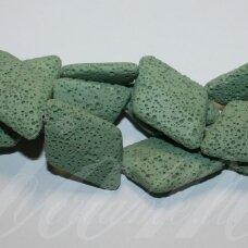 jskalav-zalsv-rom-38x22x7.5 apie 38 x 22 x 7.5 mm, rombo forma, žalsva spalva, lava, 13 vnt.