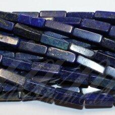 jskalaz-stac4-13x4x4 apie 13 x 4 x 4 mm, stačiakampio forma, lazuritas, apie 28 vnt.