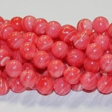 jskaml0001-apv-08 apie 8 mm, apvali forma, sintetinis, marga, malachitas, apie 48 vnt.