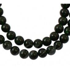 jskanls-apv-10 apie 10 mm, apvali forma, nilo smaragdas, apie 40 vnt.