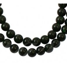 jskanls-apv-12 apie 12 mm, apvali forma, nilo smaragdas, apie 33 vnt.