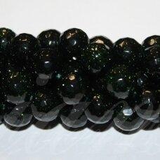 jskanls-apv-br-06 apie 6 mm, apvali forma, briaunuotas, nilo smaragdas, apie 62 vnt.