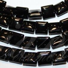 JSKAON-KVAD8-08x8x4 apie 8 x 8 x 4 mm, kvadrato forma, oniksas, apie 48 vnt.