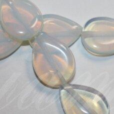JSKAOP-LAS2-18x13x4.5 apie 18 x 13 x 4.5 mm, lašo forma, opalitas, apie 22 vnt.