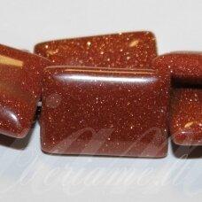 jskasa-stac-18x13x4.5 apie 18x13x4.5 mm, stačiakampio forma, saulės akmuo, apie 22 vnt.
