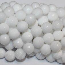 jskaza-balt-apv-br-12 apie 12 mm, apvali forma, briaunuotas, balta spalva, žadeitas, apie 32 vnt.