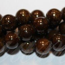 jsmarm0124-apv-10 (x-24) apie 10 mm, apvali forma, ruda spalva, apie 40 vnt.