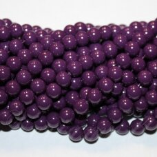jsstik0109-apv-08 about 8 mm, round shape, purple color, about 100 pcs.