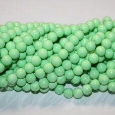 jsstik0111-apv-10 about 10 mm, round shape, light, green color, about 80 pcs.