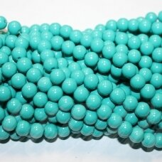 jsstik0112-apv-08 about 8 mm, round shape, green color, about 100 pcs.