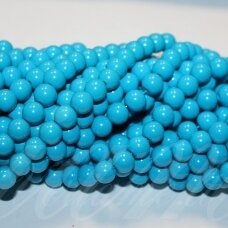 jsstik0114-apv-08 about 8 mm, round shape, blue color, about 100 pcs.