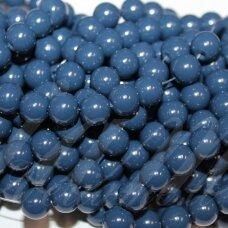 jsstik0137-apv-10 apie 10 mm, apvali forma, mėlyna spalva, apie 80 vnt.