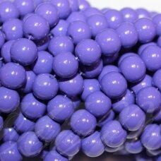 jsstik0138-apv-08 about 8 mm, round shape, purple color, about 100 pcs.