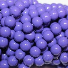 jsstik0138-apv-10 about 10 mm, round shape, purple color, about 80 pcs.