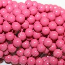 jsstik0141-apv-08 apie 8 mm, apvali forma, rožinė spalva, apie 100 vnt.
