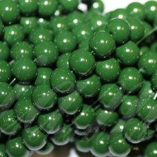 jsstik0145-apv-08 apie 8 mm, apvali forma, žalia spalva, apie 100 vnt.
