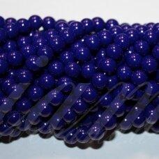 JSSTIK0151-APV-10 apie 10 mm, apvali forma, mėlyna spalva, apie 80 vnt.