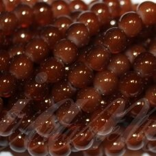 JSSTIK0153-APV-10 apie 10 mm, apvali forma, ruda spalva, apie 80 vnt.