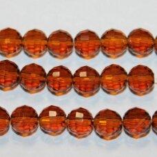 jssw0007gel-apv2-06 apie 6 mm, apvali forma, briaunuotas, tamsi, ruda spalva, apie 100 vnt.