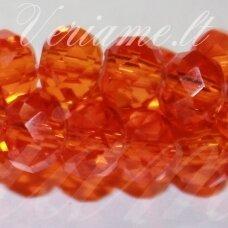 jssw0015gel-ron-09x12 apie 9 x 12 mm, rondelės forma, oranžinė spalva, apie 72 vnt.