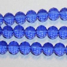 jssw0017gel-apv2-08 apie 8 mm, apvali forma, briaunuotas, karališko mėlynumo spalva, apie 72 vnt.