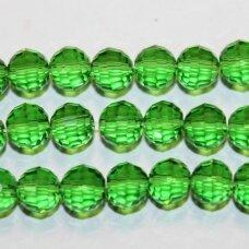 JSSW0024GEL-APV2-06 apie 6 mm, apvali forma, briaunuotas, šviesi, žalia spalva, apie 100 vnt.