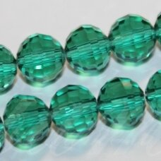 jssw0027gel-apv2-08 apie 8 mm, apvali forma, briaunuotas, žalia spalva, apie 72 vnt.