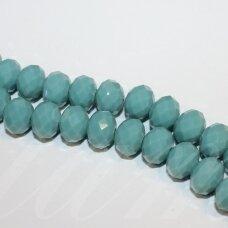 jssw0125gel-ron-09x12 apie 9 x 12 mm, rondelės forma, žydra spalva, apie 72 vnt.