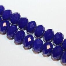 jssw0069gel-ron-06x8 apie 6 x 8 mm, rondelės forma, tamsi, mėlyna spalva, apie 72 vnt.