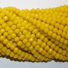 jssw0484-ron-03x4 apie 3 x 4 mm, rondelės forma, geltona spalva, apie 150 vnt.