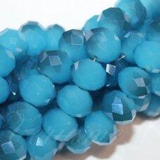 jssw0489-ron-09x12 apie 9 x 12 mm, rondelės forma, mėlyna spalva, blizgi danga, apie 72 vnt.